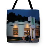1947 Amoco Gas Station Tote Bag