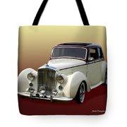 1947 Bentley M K  5   G T X  Tote Bag