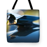 1947 Cadillac Model 62 Coupe Hood Ornament Tote Bag