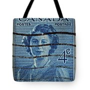 1947 Canada Four Cents Stamp Tote Bag
