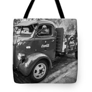 1947 Ford Coca Cola C.o.e. Delivery Truck Bw Tote Bag