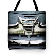 1947 Ford Deluxe Grille Emblem Tote Bag