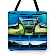 1947 Ford Deluxe Grille Ornament -0700c Tote Bag