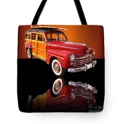 1947 Ford Woody Tote Bag by Jim Carrell