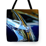 1947 Packard Hood Ornament 4 Tote Bag