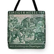 1948 Allied Occupation German Stamp Tote Bag