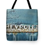 1948 Chevrolet Thrift Master Tote Bag