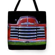 1948 Chevy Pickup W/badge Tote Bag