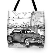 1948 Lincoln Continental Tote Bag