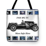 1948 Mg Tc Tote Bag