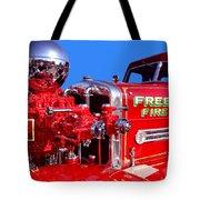 1949 Ahrens Fox Piston Pumper Fire Truck Tote Bag