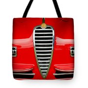 1949 Alfa Romeo 6c 2500 Ss Pininfarina Cabriolet Grille Tote Bag