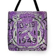 1949 Belgium Stamp - Brussels Cancelled Tote Bag