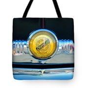 1949 Chrysler Windsor Grille Emblem Tote Bag