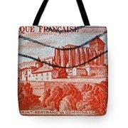 1949 Republique Francaise Stamp Tote Bag