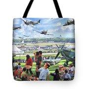 1950 Airshow Tote Bag