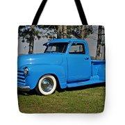 1950 Baby Blue Chevrolet Pu Tote Bag
