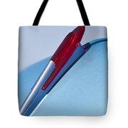 1950 Chevrolet Hood Ornament Tote Bag by Jill Reger
