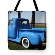 1950 Chevrolet Pick Up Baby Blue Tote Bag