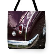 1950 Chevrolet Taillight And Bumper Tote Bag