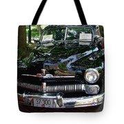 1950 Crysler Mercury Tote Bag