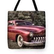 1950 Custom Mercury Subdued Color Tote Bag