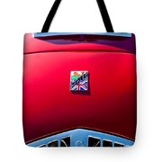 1950 Healey Silverston Sports Roadster Emblem Tote Bag
