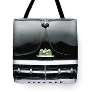 1950 Lincoln Cosmopolitan Henney Limousine Grille Emblem - Hood Ornament Tote Bag
