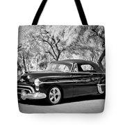 1950 Oldsmobile 88 -004bw Tote Bag