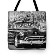 1950 Oldsmobile 88 -105bw Tote Bag