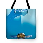 1950 Oldsmobile Hood Ornament Tote Bag by Jill Reger