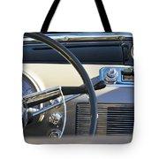 1950 Oldsmobile Rocket 88 Steering Wheel 3 Tote Bag by Jill Reger