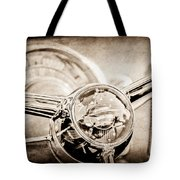 1950 Oldsmobile Rocket 88 Steering Wheel Emblem Tote Bag
