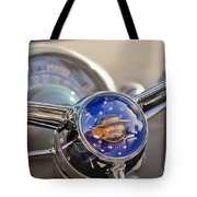 1950 Oldsmobile Rocket 88 Steering Wheel Tote Bag by Jill Reger
