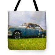 1950 Pontiac Chieftan Tote Bag