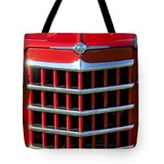 1950 Willys Jeepster Gtille Tote Bag
