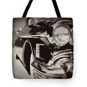 1950s Cadillac No. 1 Tote Bag by Lisa Russo