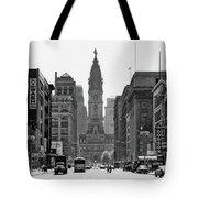 1950s Downtown Philadelphia Pa Usa Tote Bag