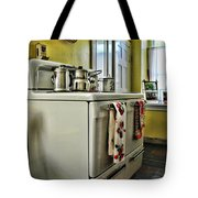 1950's Kitchen Stove Tote Bag