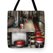 1950's - The Ice Cream Parlor  Tote Bag