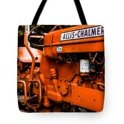 1950s-vintage Allis-chalmers D14 Tractor Tote Bag