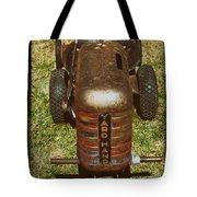 1950s Yard Hand Tractor Tote Bag