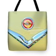 1951 Chrysler New Yorker Convertible Emblem Tote Bag by Jill Reger