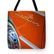 1951 Ford Crestliner Emblem - Wheel Tote Bag