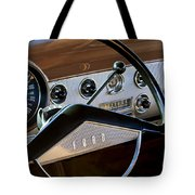 1951 Ford Crestliner Steering Wheel Tote Bag