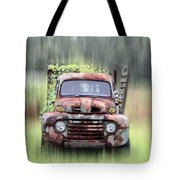 1951 Ford Truck - Found On Road Dead Tote Bag