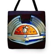 1951 Mercury Emblem Tote Bag
