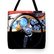 1951 Mg Td Dashboard Tote Bag