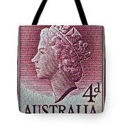 1952-1958 Australia Queen Elizabeth II Stamp Tote Bag