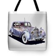 1952 Bentley M K Four Tote Bag